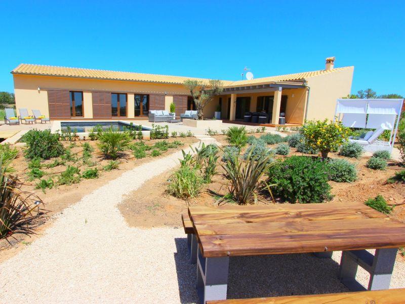Pool-Villa Can Carino inklusive WLAN und Klima (zubuchbar) Nahe Campos / Es Trenc Strand
