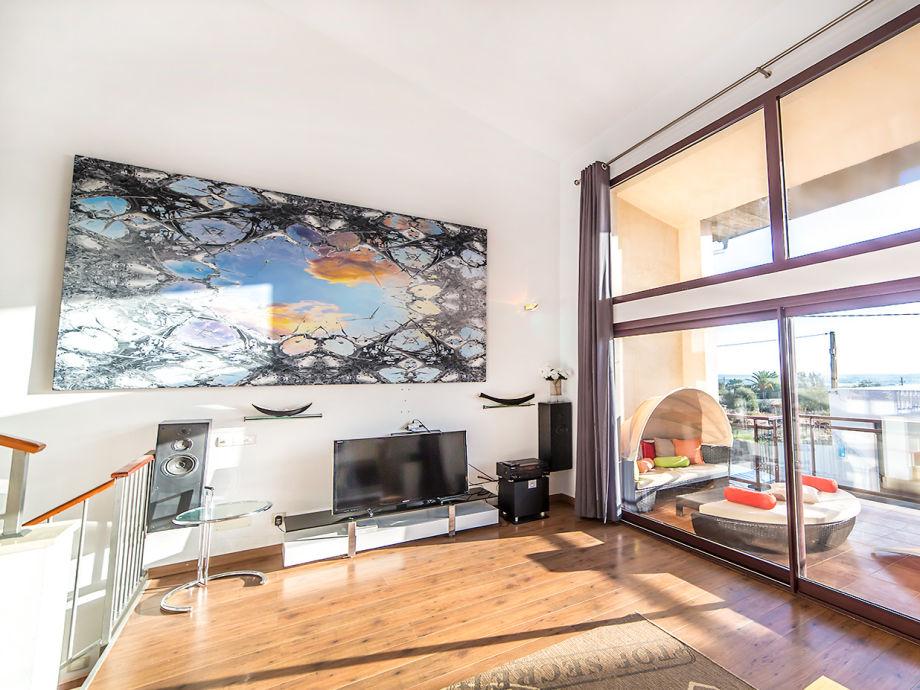 Casa Tila - Blick von Wohnzimmer