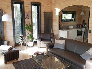 Ferienhaus Blockhaus im Harz mit Sauna und Whirlpool