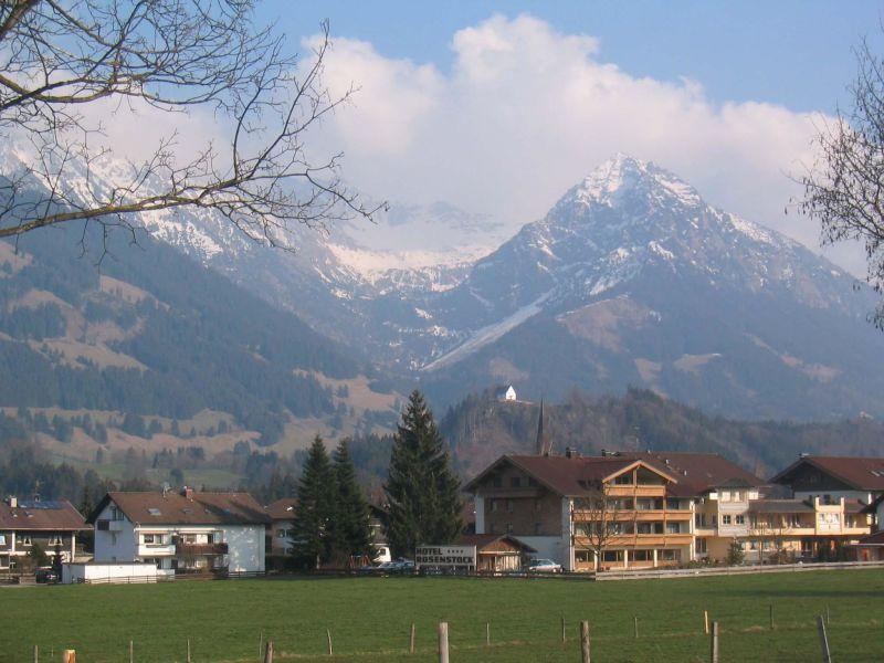 Ferienwohnung Seitz - Bergblick
