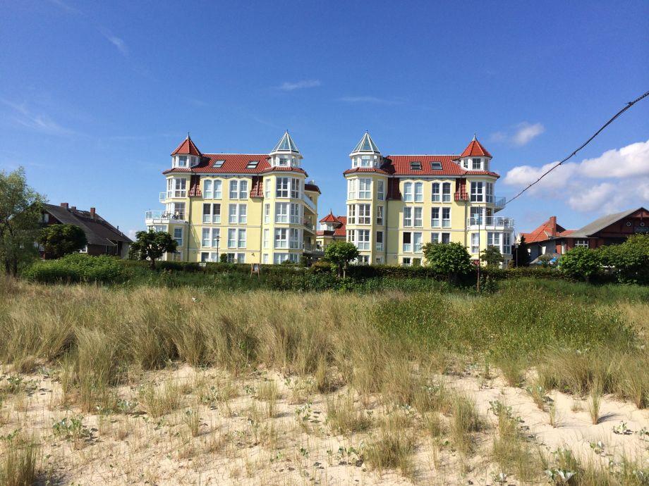 Dünenresidenz vom Strand