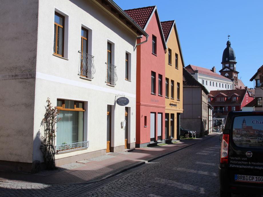 150 Meter zur Einkaufsmeile und  Stadthafen/Müritz