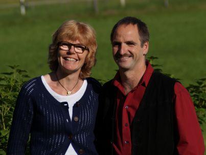Ihr Gastgeber Ute und Peter Schlaifer