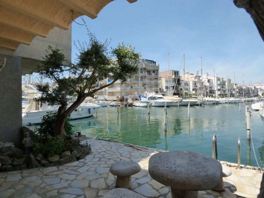 Ferienhaus paradies 13 in 3 strandlinie mit garage costa - Wasser am fenster ...