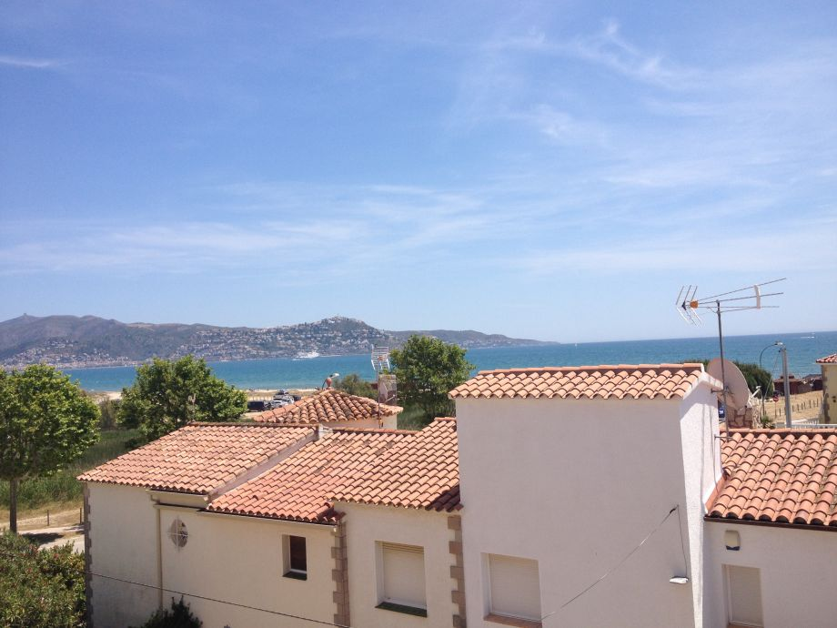 Meerblick von der Terrasse oben