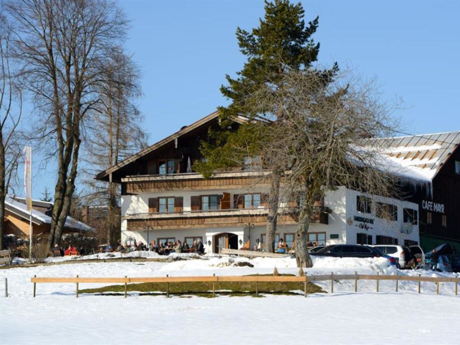 Terrasse Bauerngasthof Cafe Mayr