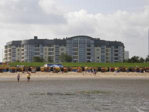 Ferienwohnung 126 A in der Kurparkresidenz Cuxhaven