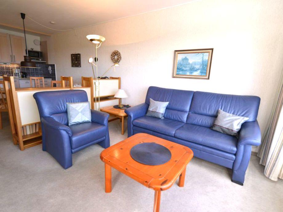 Wohnzimmer mit Doppelschlafcouch