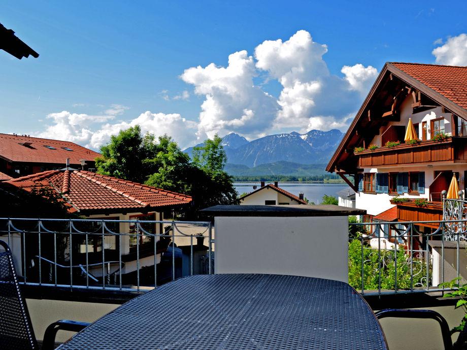 Balkonblick zum See