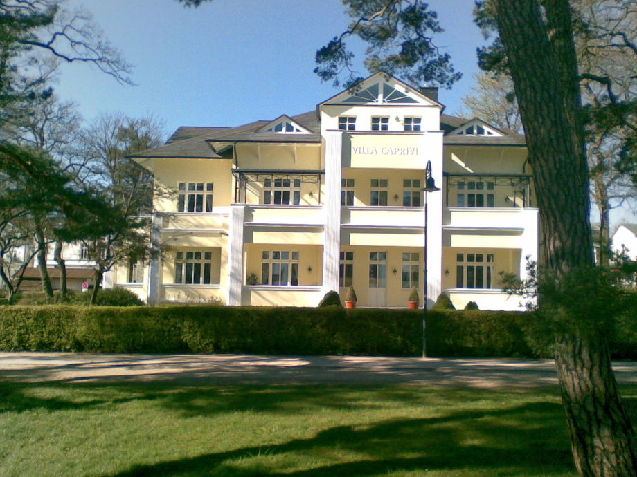 Villa Caprivi an der Promenade