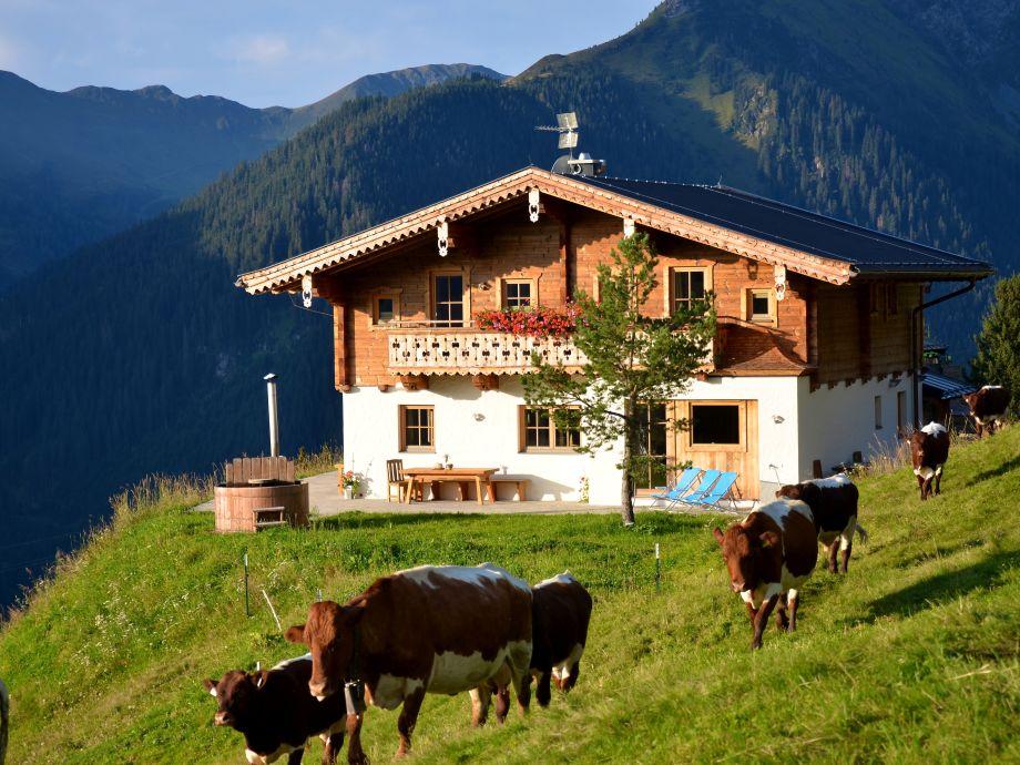 Die luxuriöse, geräumige Lodge für 10 Personen.