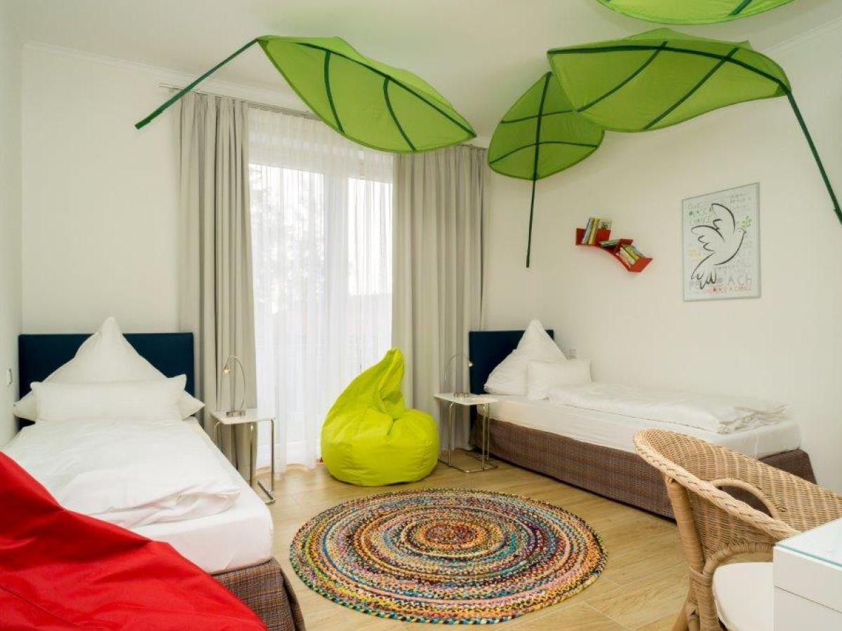 Ferienwohnung ostseedomizil la mer 3 raum appartement for Kinderzimmer carlo