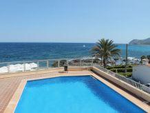 Ferienwohnung R018 mit Pool und Meerblick