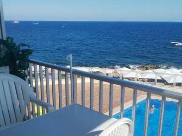 Ferienwohnung MP022 mit Pool und Meerblick