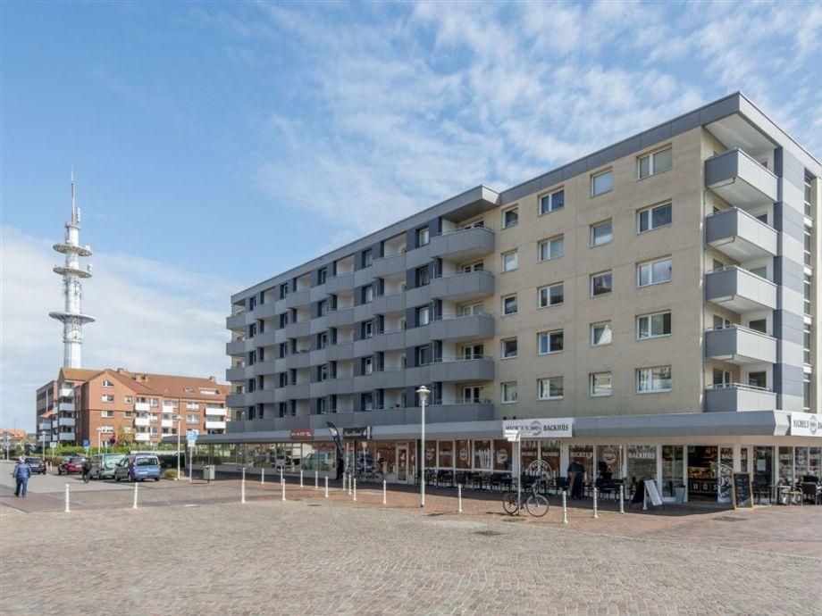 Außenaufnahme Ferienwohnung 74 im Haus Ankerlicht (KÖNIG SYLT, HAL/74)