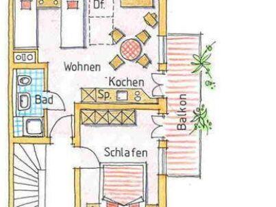 2 im Dachgeschoss Haus Sonnenbergle