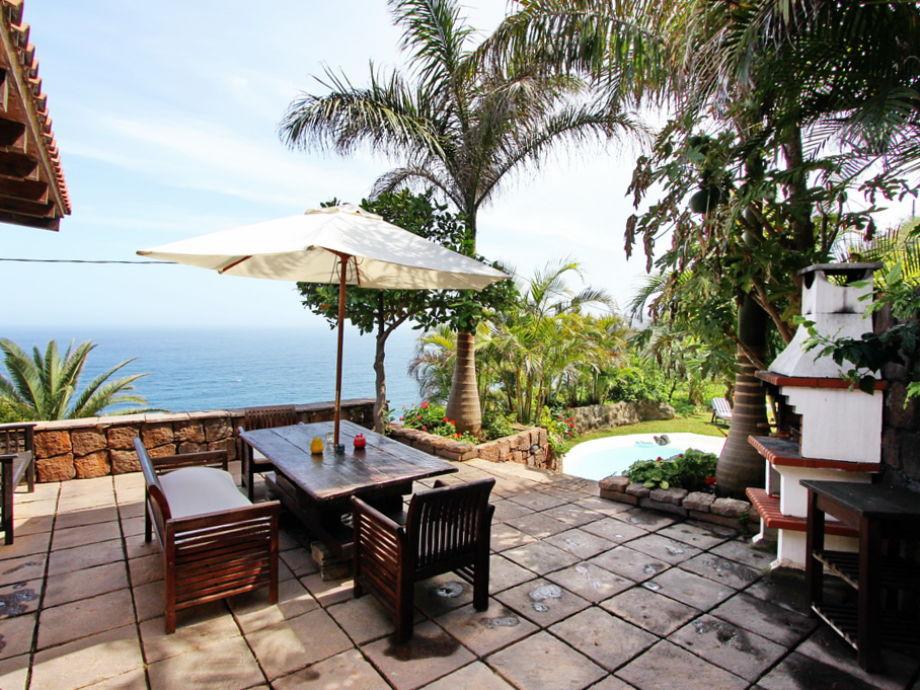 Die Terrasse - Casa Aurora mit Meerblick