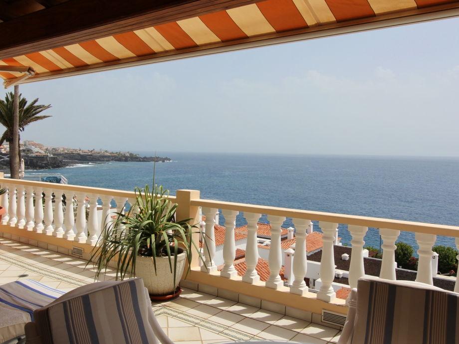 Wunderschöner Meerblick von der Terrasse