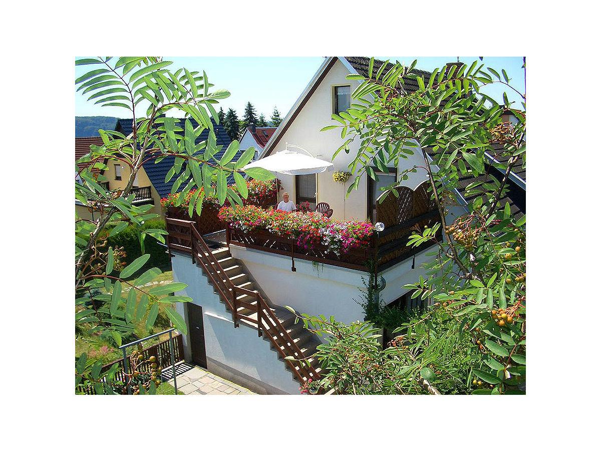 Perfect Haus König   Aufgang Zur Fewo 1 Mit Balkon/Terrasse
