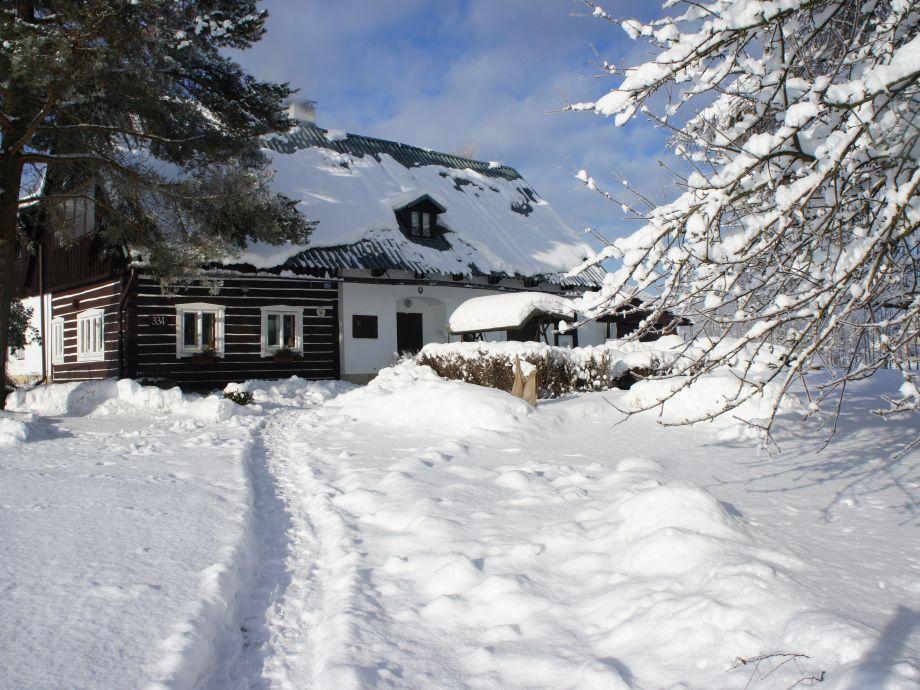 Ferienhaus Adršpach - Winterzeit