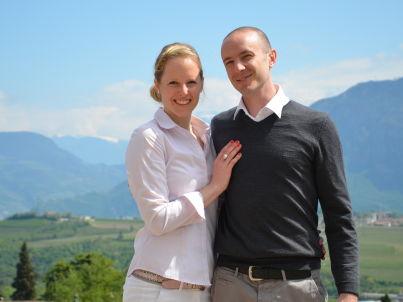 Ihr Gastgeber Petra und Simon Keller