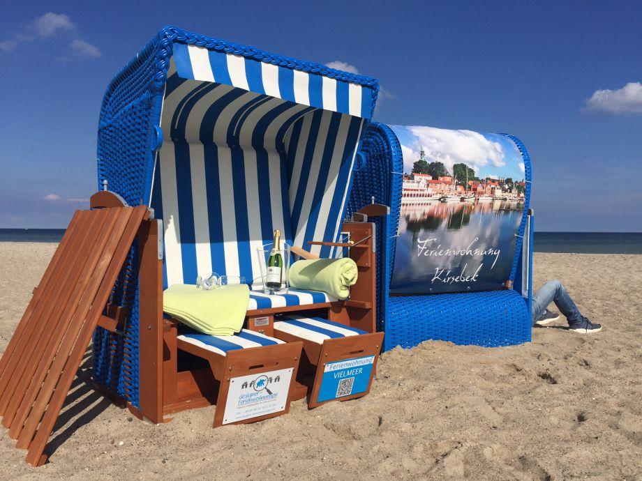 Unser Service für Sie: Ihr Strandkorb am Meer