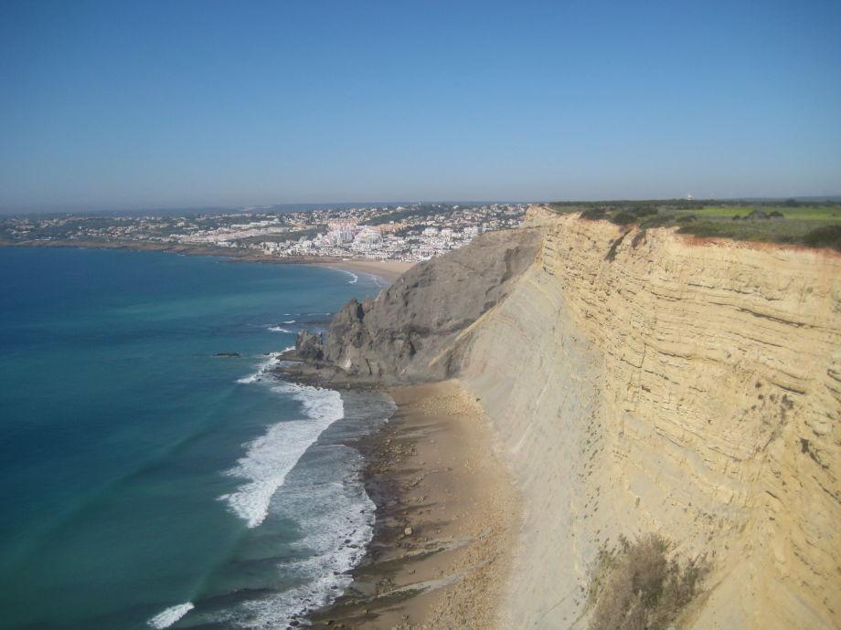 Die Küste nach Praia da Luz
