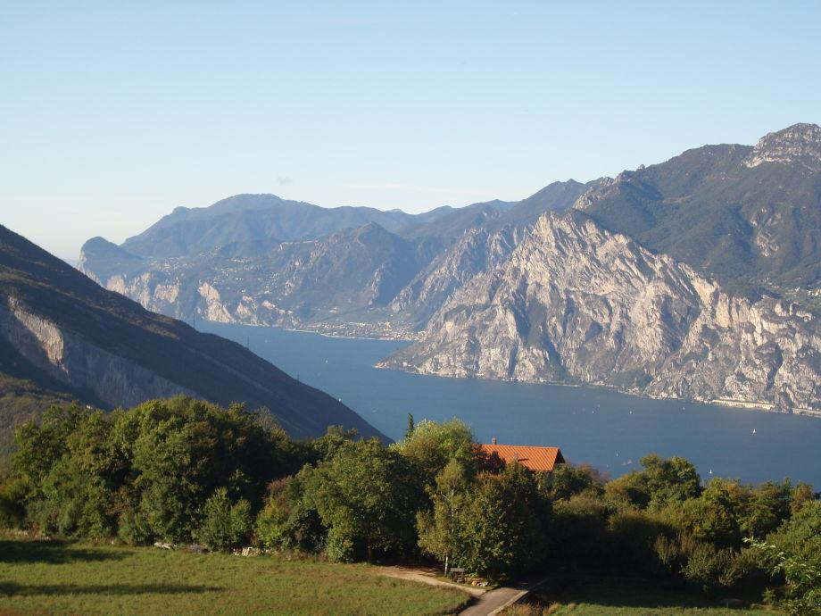 Unser Haus über dem Gardasee