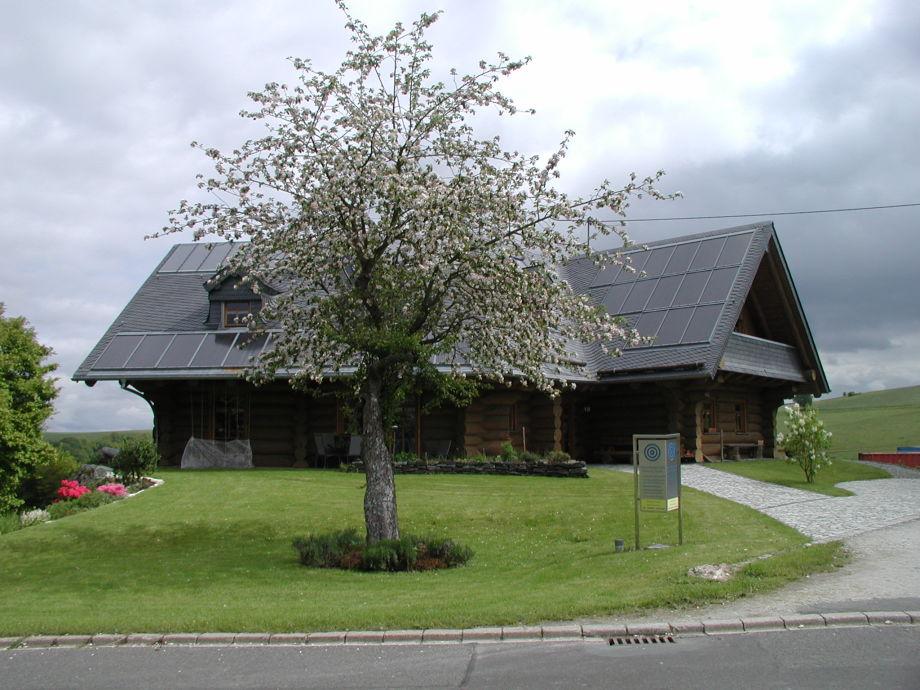 Kanadisches Holzhaus