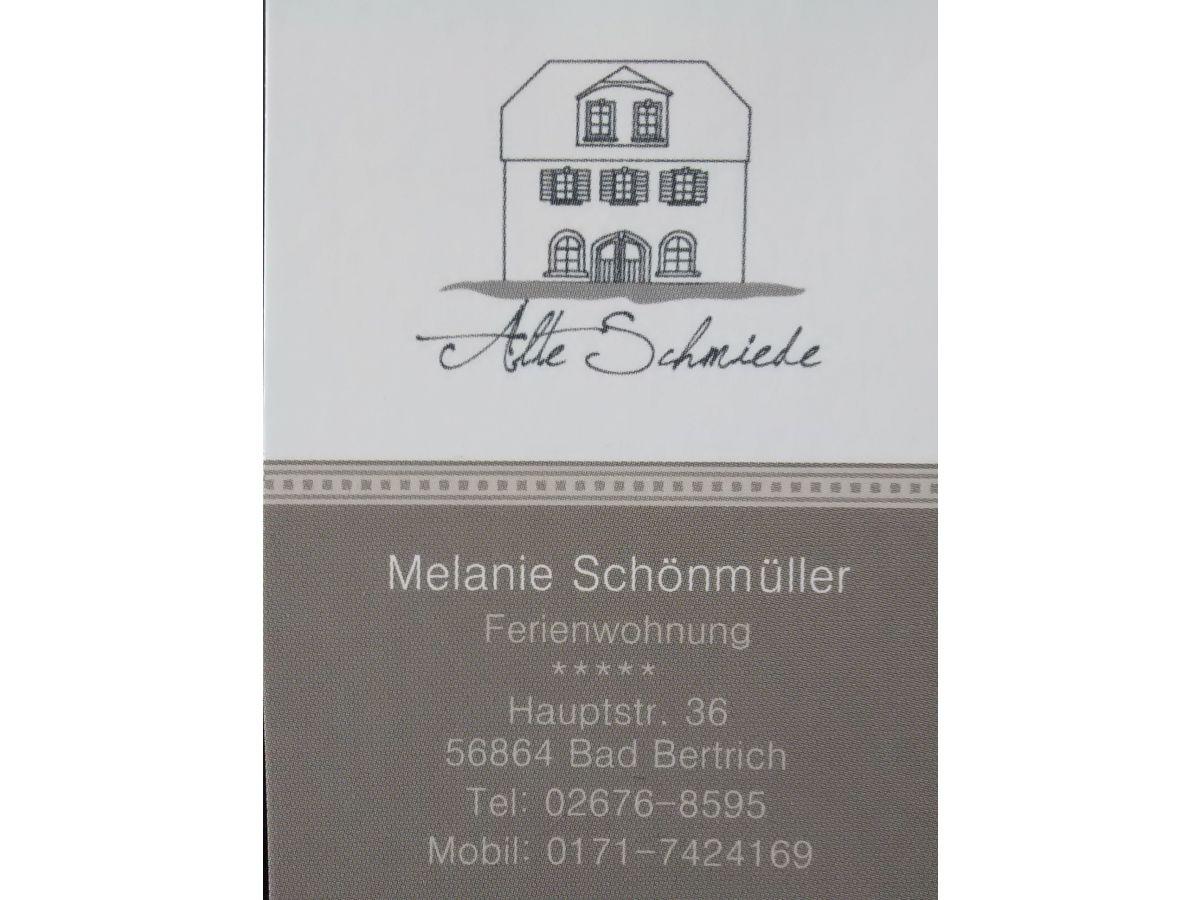 Ferienwohnung Alte Schmiede Eifelliebe Bad Bertrich