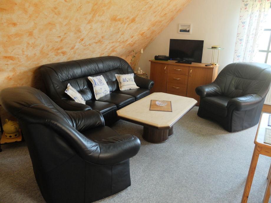 Haus LUV und LEE - Ferienwohnung - Wohnraum