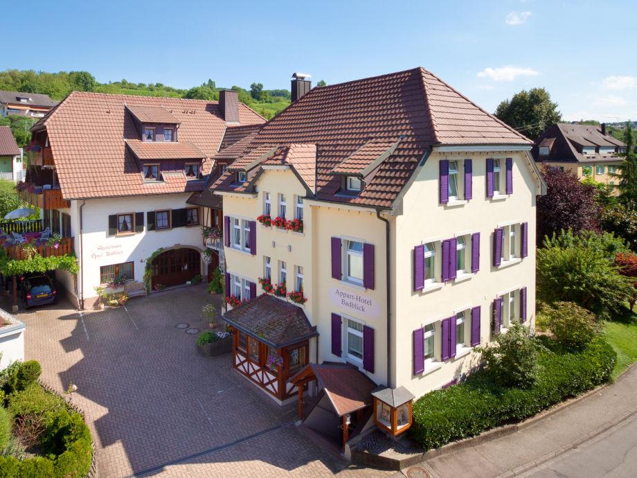 Ferienwohnung badblick typ a markgr flerland baden for Appart hotel 45