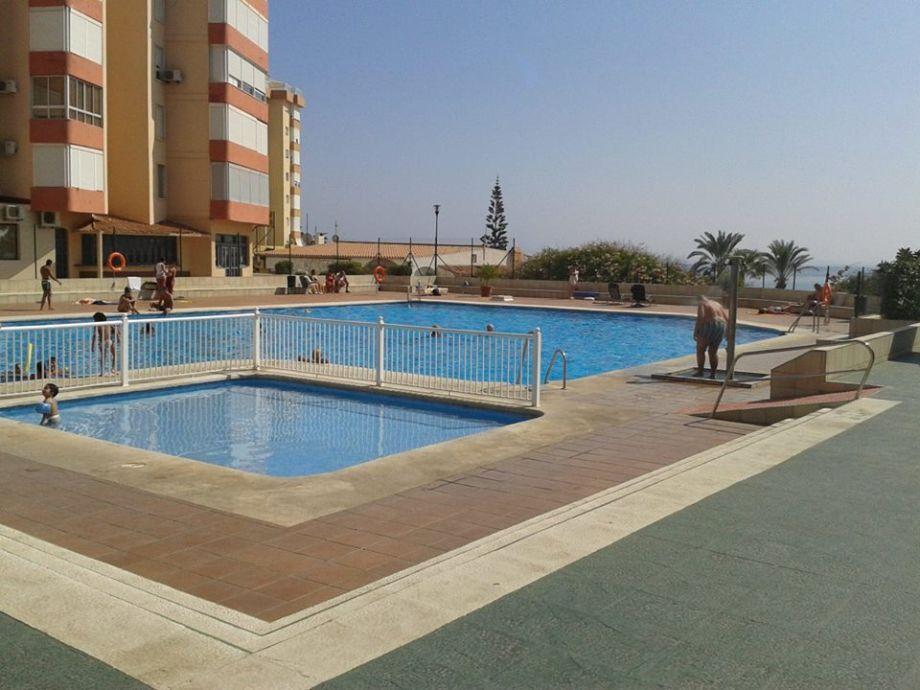 Pool der Anlage