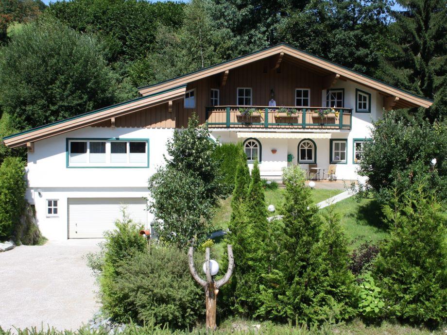 Landhaus Leogang im Sommer