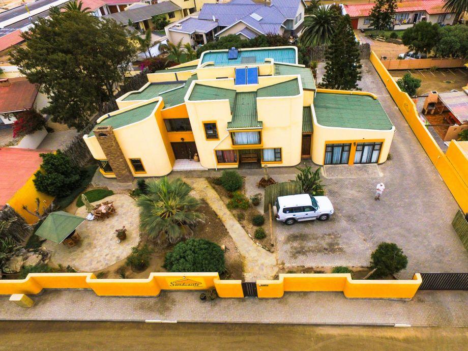 Sandcastle Apartments aus der Vogelperspektive