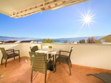 Ferienwohnung Fanuko, mit Balkon und Meerblick