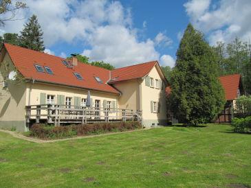 Mittlere Ferienwohnung im Forsthaus Boberow