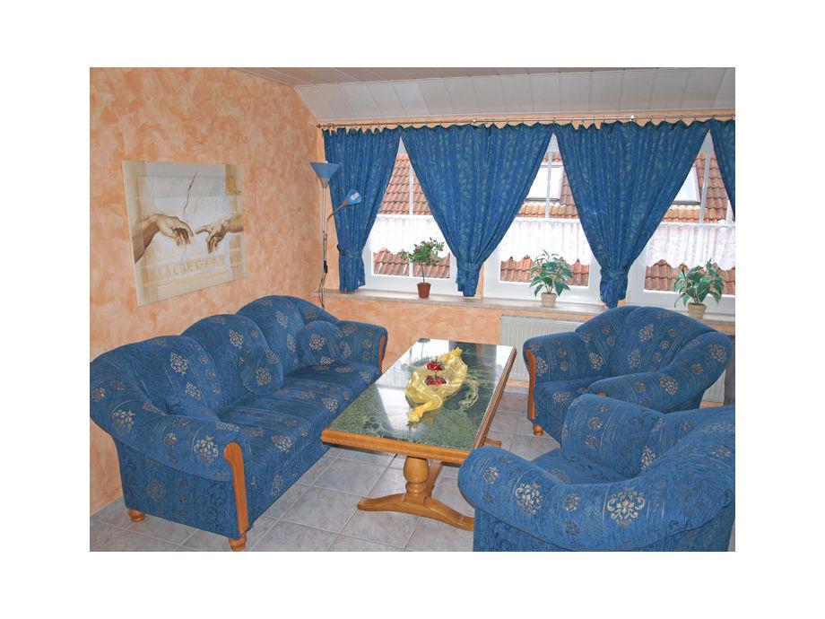 Wohnzimmer mit einer schönen Sitzecke
