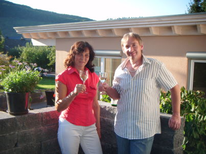 Ihr Gastgeber Birgit  und  Jörg Mentges - Schnitzius