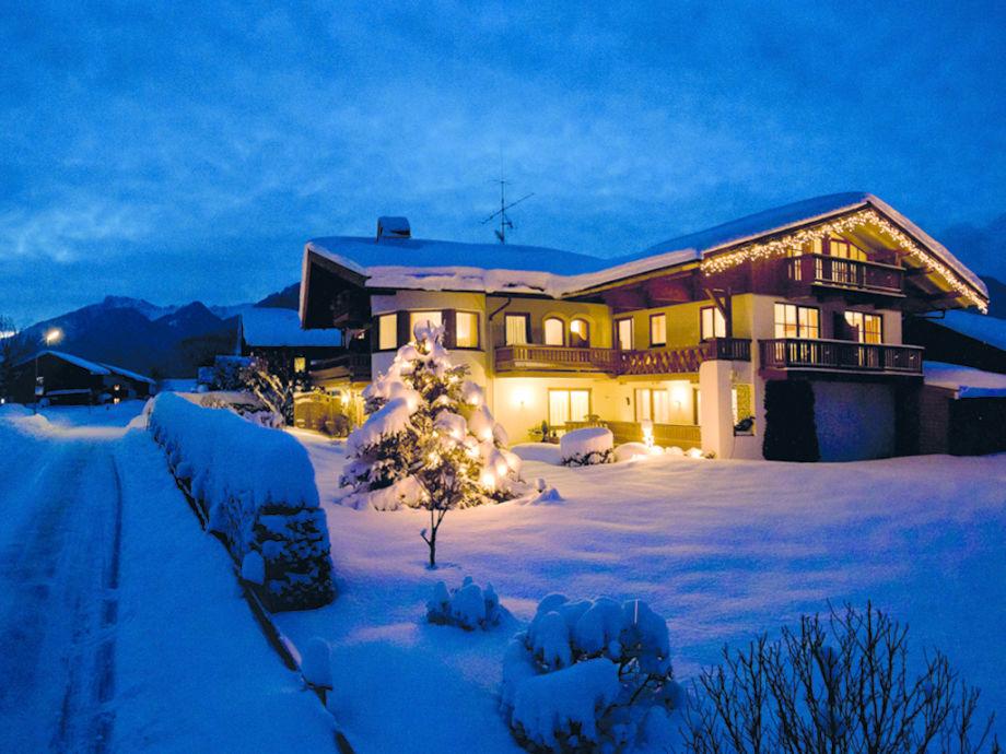 Haus Jäger Ferienwohnung im Winter