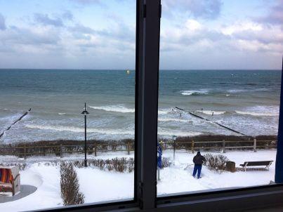 Nienhäger Strand Blick auf's Meer
