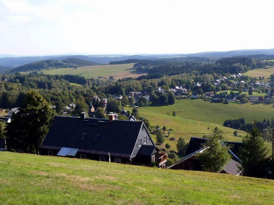 Sommer mit Blick nach Böhmen