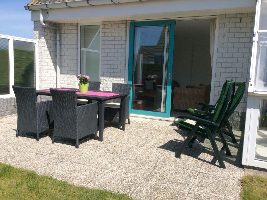 Gartenseite - Terrasse