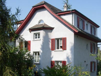 Stadt Luzern beim Rotsee