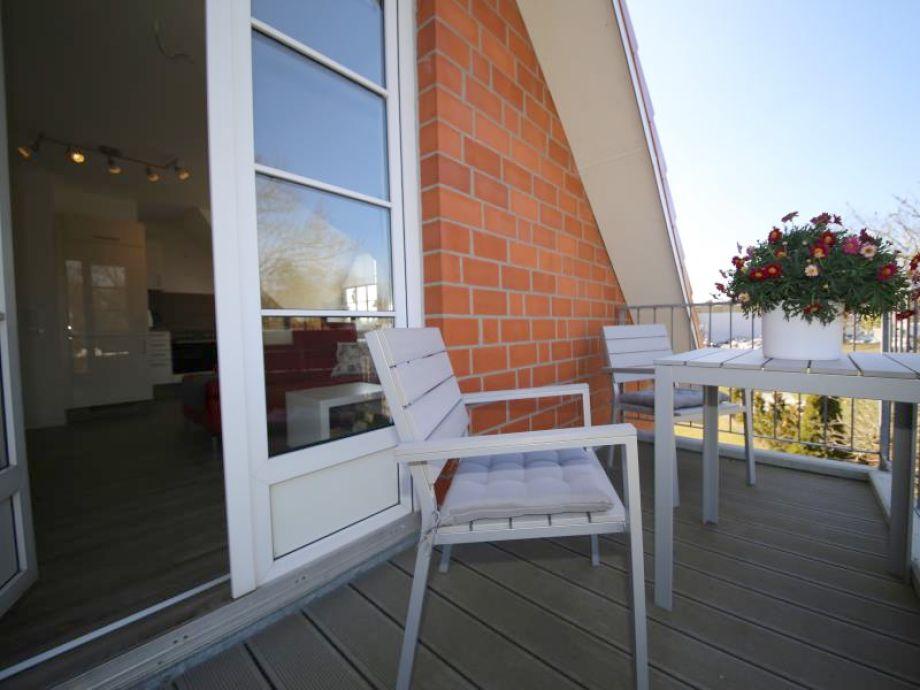 Der sonnige Balkon