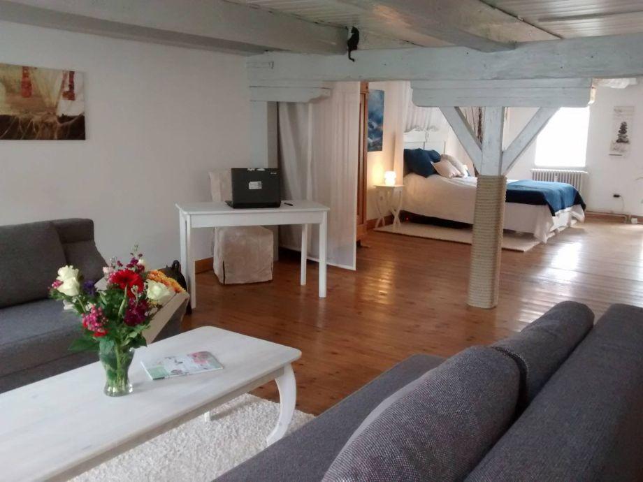 ferienwohnung im alten speicher flensburger f rde frau. Black Bedroom Furniture Sets. Home Design Ideas