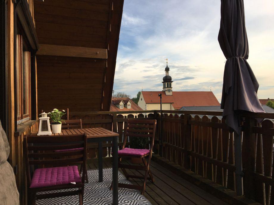 Balkon Ferienwohnung Auer