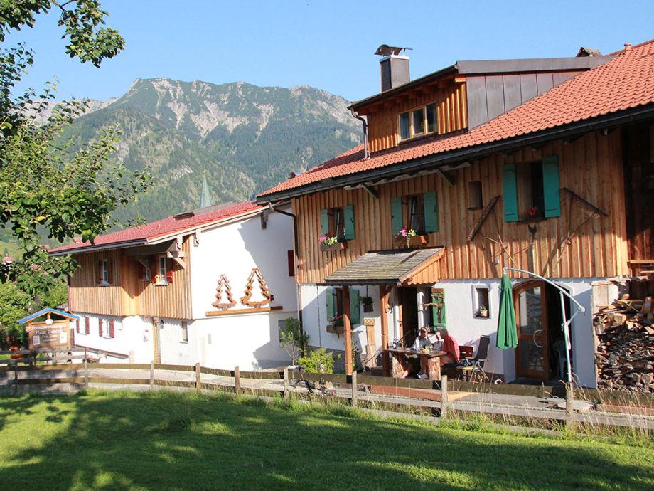 Ferienwohnung Hirschberg beim Wurzler Bad Hindelang