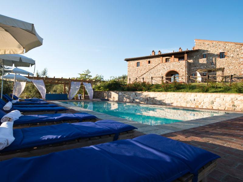 Ferienwohnung Podere Campaini 3-Zimmer-Wohnung mit Pool