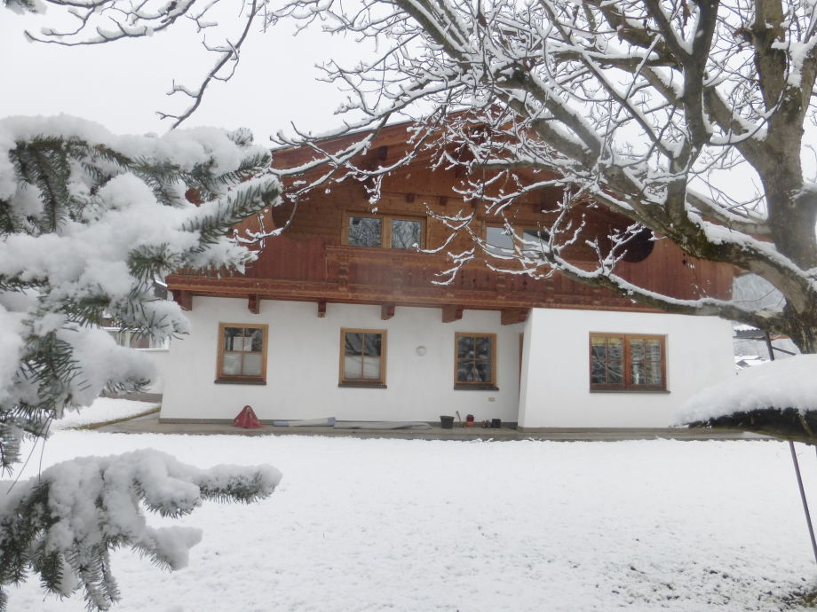 Haus im Winter 2014